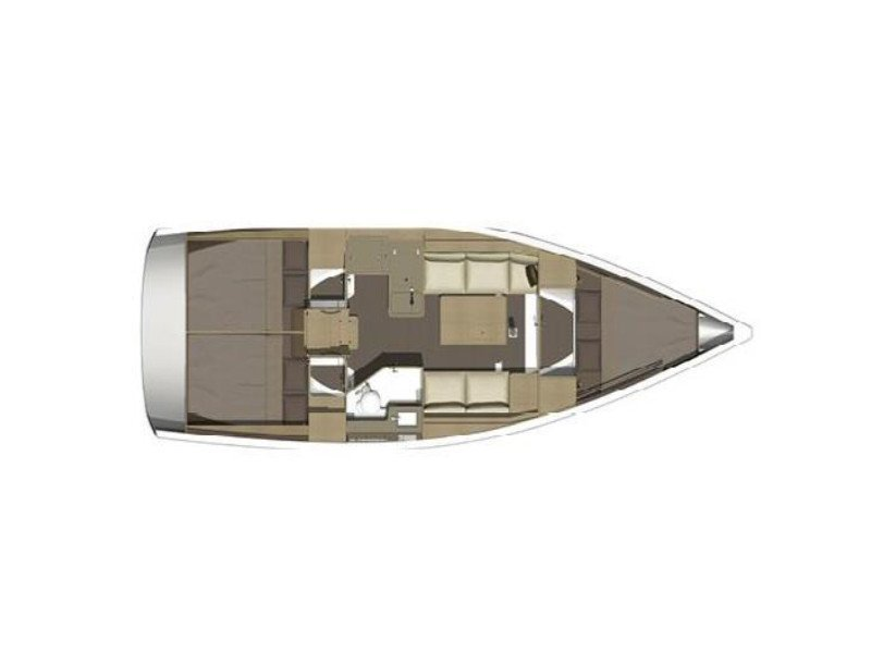 Dufour 350 Grand Large (PAPILLON) Plan image - 12