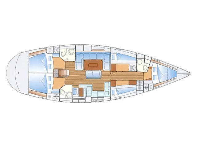 Bavaria 50 Cruiser (Iorana) Plan image - 1