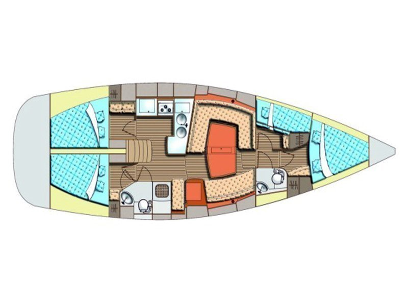 Elan 434 Impression (LINA) Plan image - 19