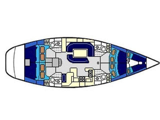 Sun Odyssey 52.2 (ATLANTIS) Plan image - 11