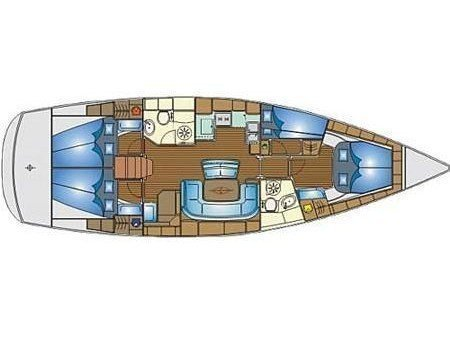 Bavaria 46 Cruiser (SEA PERK) Plan image - 16