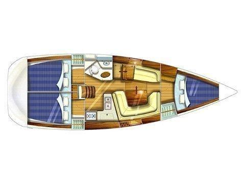 Sun Odyssey 35 (More) Plan image - 2