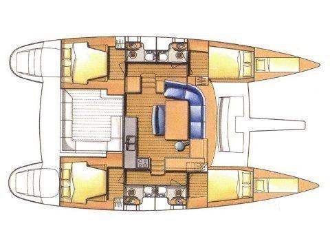 Lagoon 440 (MOVI) Plan image - 5
