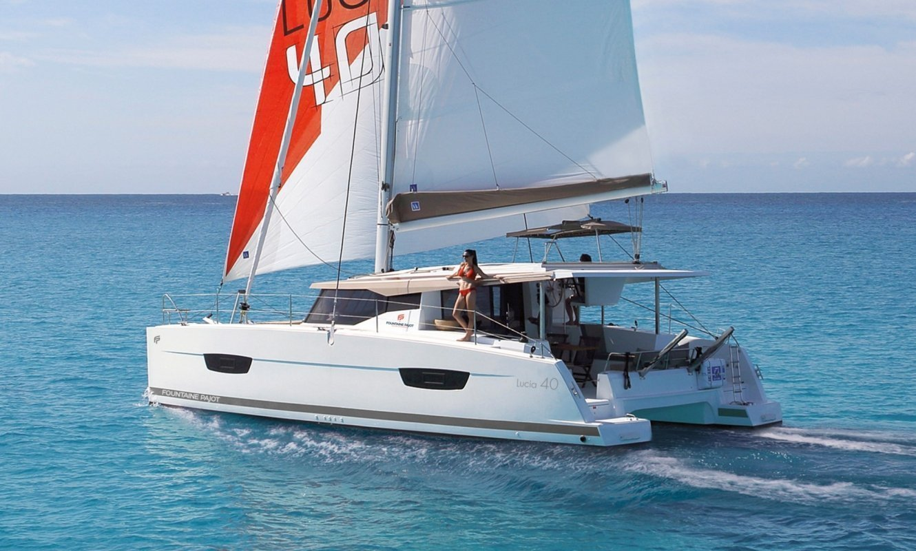 Fountaine Pajot Lucia 40 - 3 cab. (Whoop-Sea)  - 0