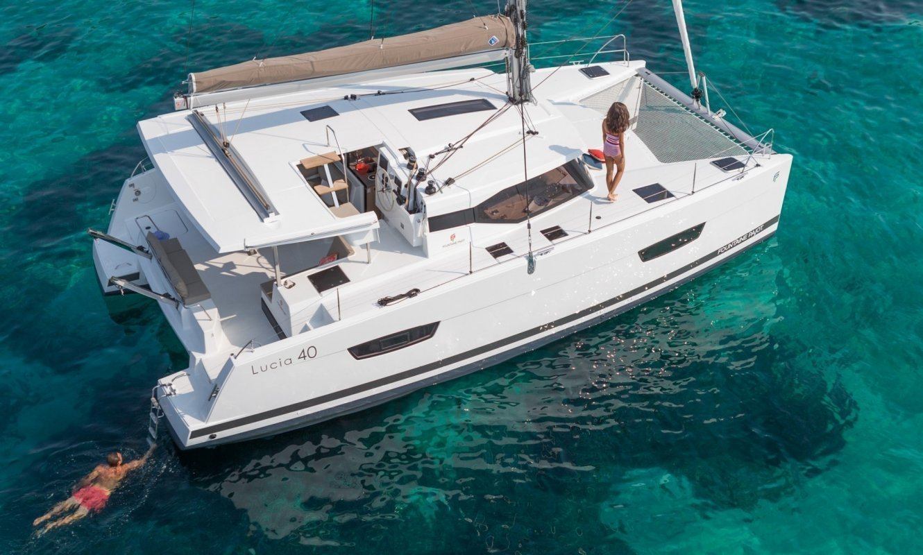 Fountaine Pajot Lucia 40 - 3 cab. (Whoop-Sea)  - 6
