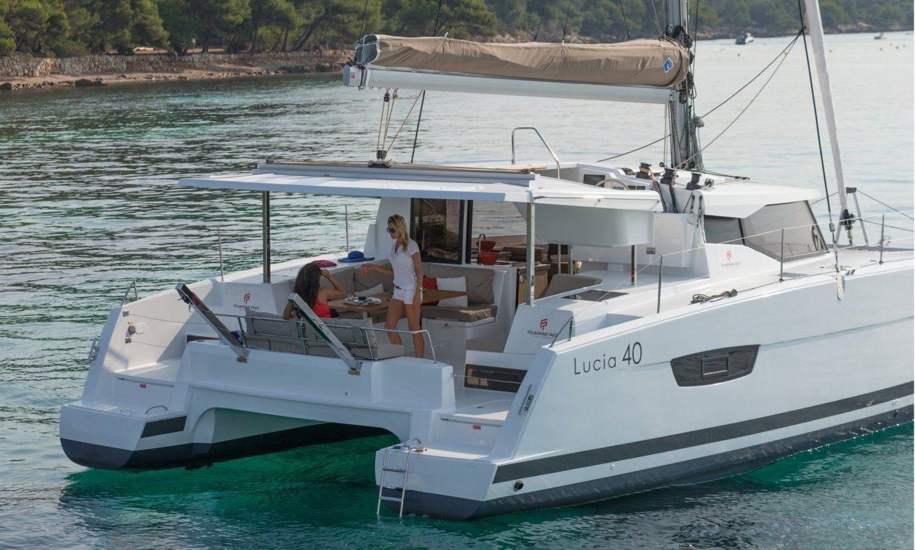 Fountaine Pajot Lucia 40 - 3 cab. (Whoop-Sea)  - 8