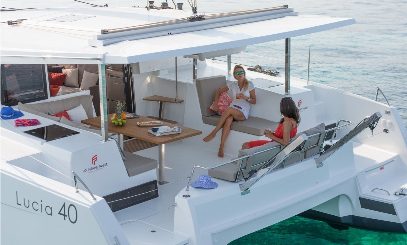 Fountaine Pajot Lucia 40 - 3 cab. (Whoop-Sea)  - 9