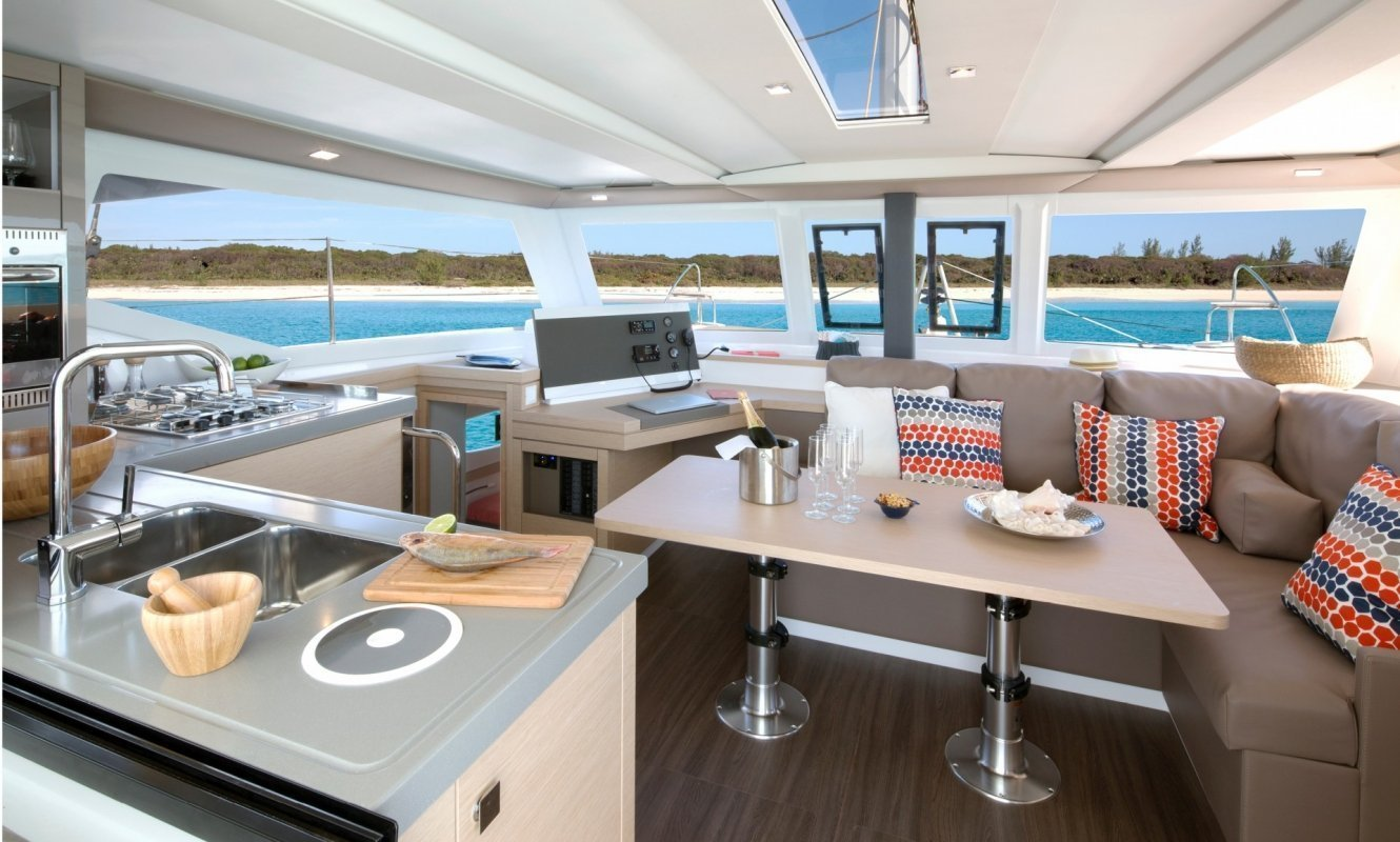 Fountaine Pajot Lucia 40 - 3 cab. (Whoop-Sea)  - 10