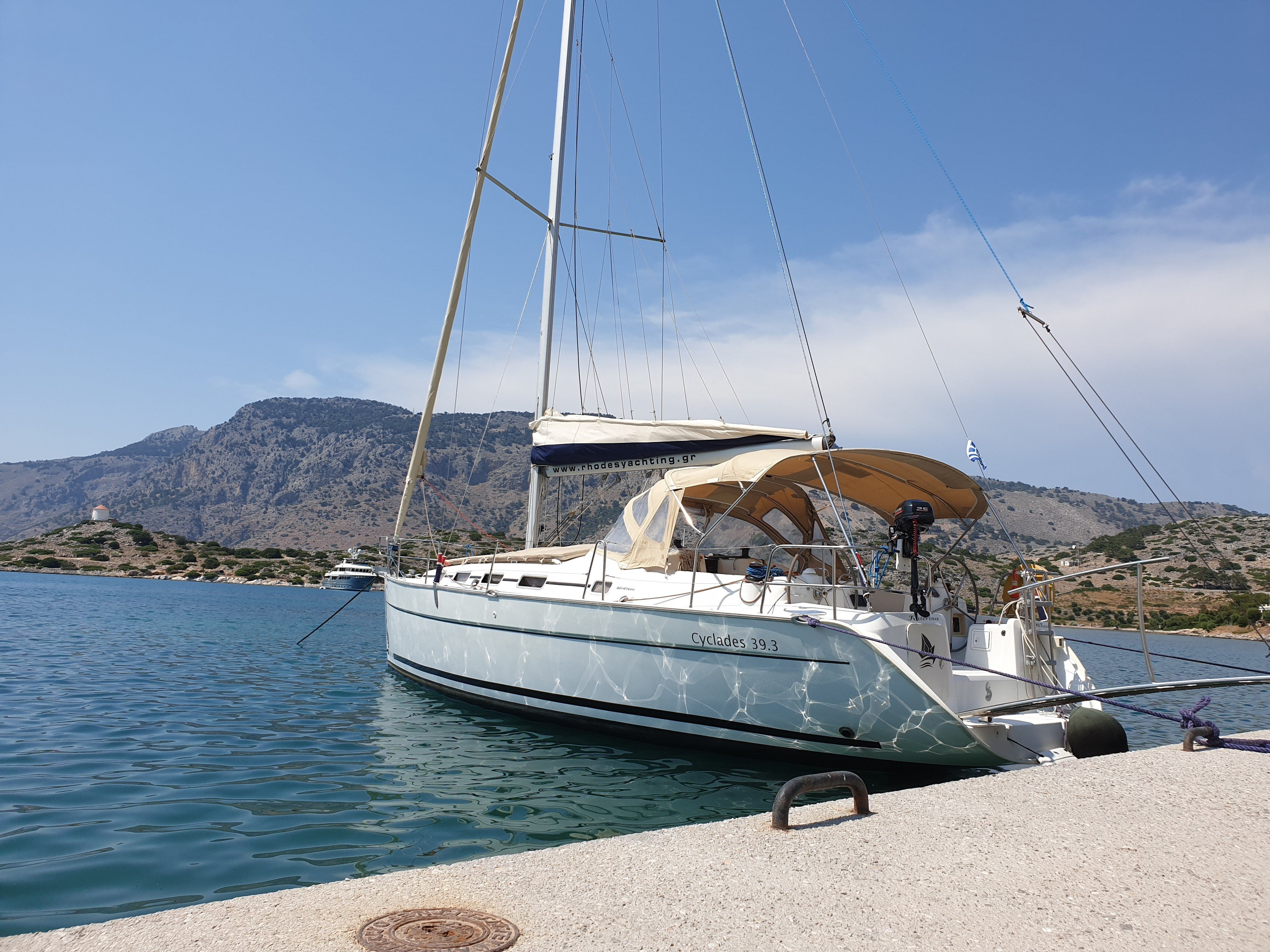 Cyclades 39.3 (Rhodes Yachting)  - 2