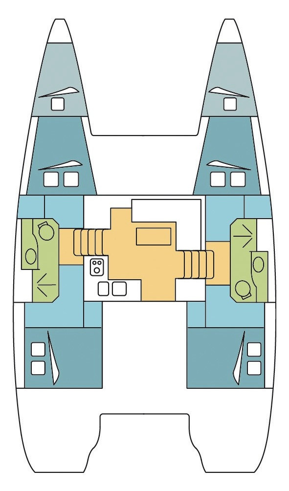Lagoon 39 - 4 + 2 cab. (CICERON )  - 1