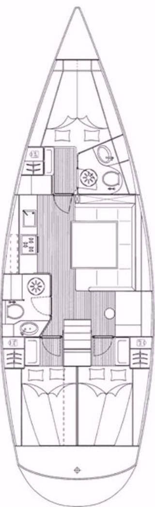 Bavaria 43 Cruiser (Annabella)  - 1