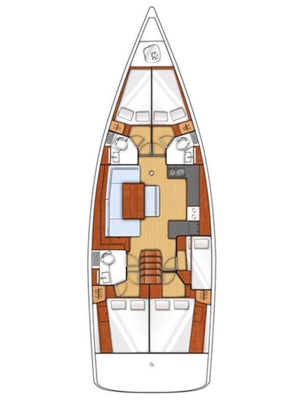 Oceanis 48 - 5 cab. (ROSALIA)  - 1