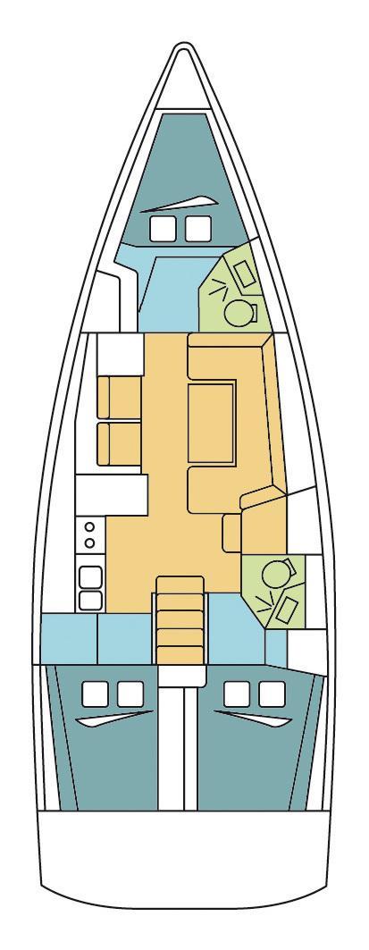 Oceanis 41 (BELLINI )  - 1