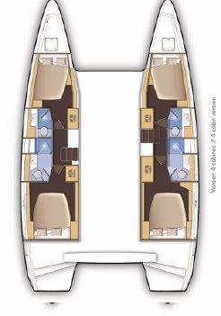 Lagoon 46 - 4 + 2 cab. (BARBARELLA III)  - 1
