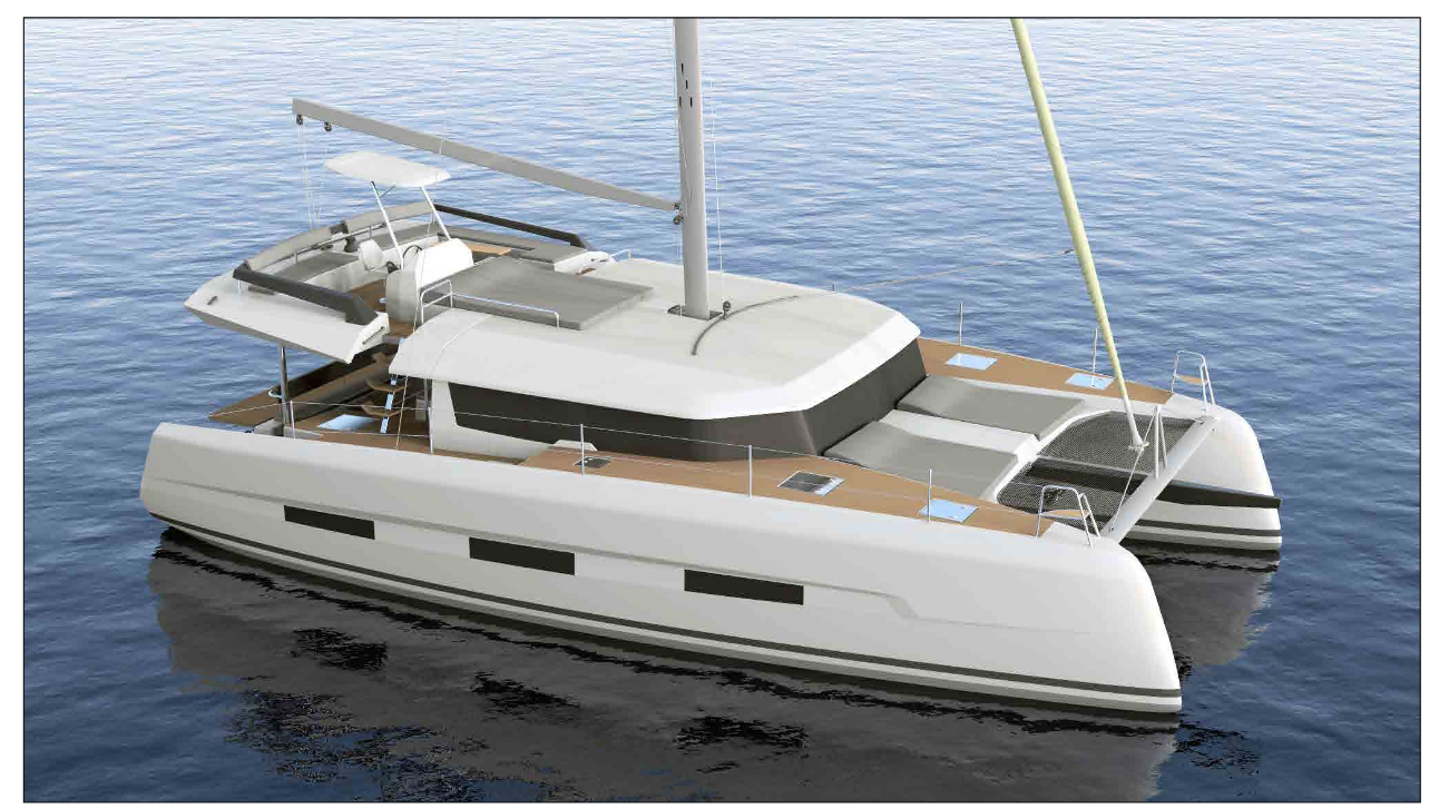 Dufour 48 Catamaran - 5 + 1 cab. (Blue Horizon)  - 0