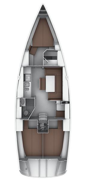Bavaria Cruiser 40 S (Screwdriver)  - 1