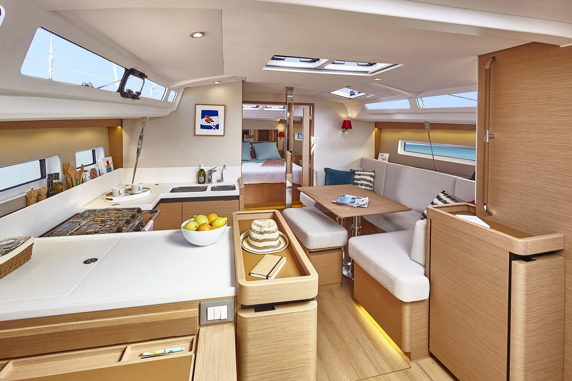 Sun Odyssey 440 (SEA STAR A/C - shore power only (2020))  - 3