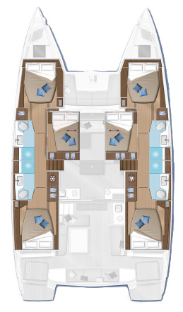 Lagoon 50 - 6 + 2 cab. (For Sail Again)  - 1