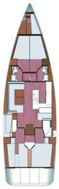 Bavaria Cruiser 56 (5 + 1 cab. - LUNJA)  - 1