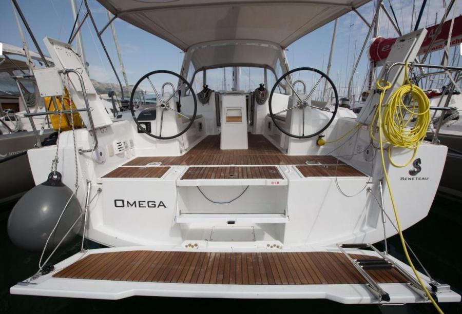 Oceanis 38 - 3 cab. (Omega)  - 0