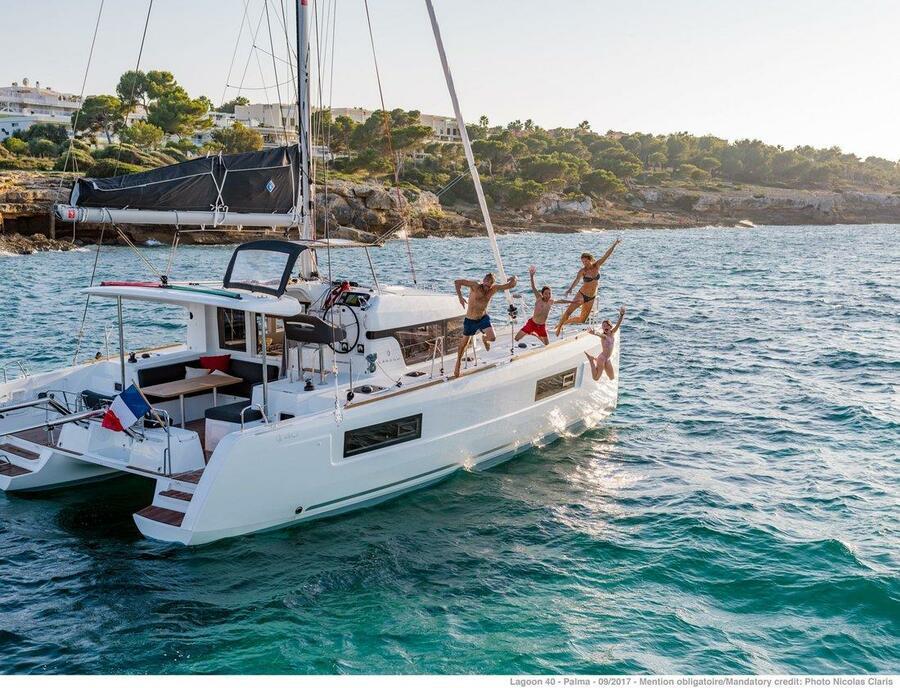 Lagoon 40 - 4 + 2 cab (Chios)  - 2