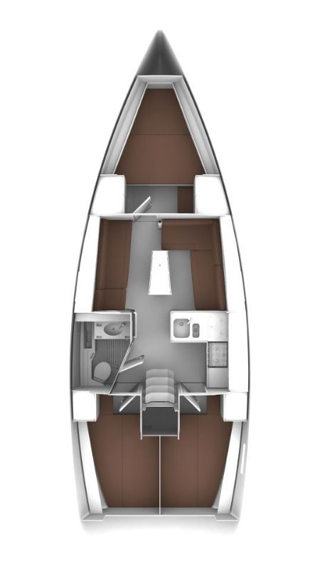 Bavaria Cruiser 37 - 3 cab. (CRUSH)  - 1
