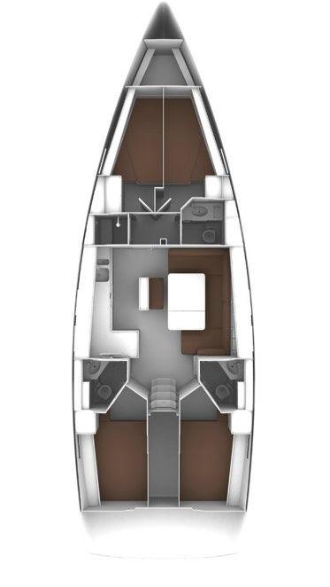 Bavaria Cruiser 46 - 4 cab. (Aelia)  - 1