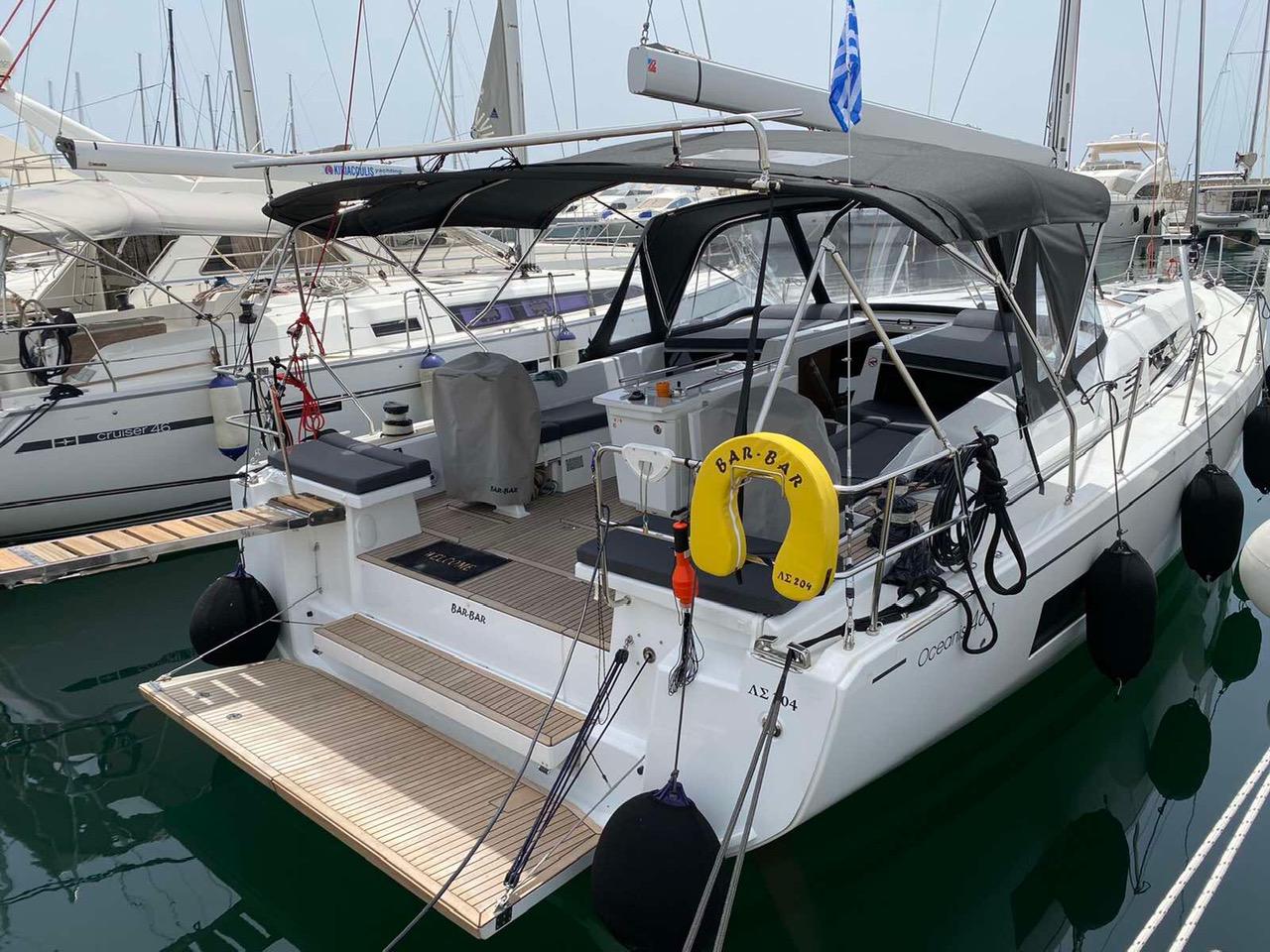 Oceanis 46.1 (5 cab -  A/C - BAR BAR)  - 2