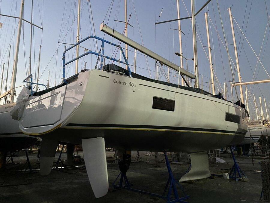 Oceanis 46.1 (5 cab -  A/C - BAR BAR)  - 4