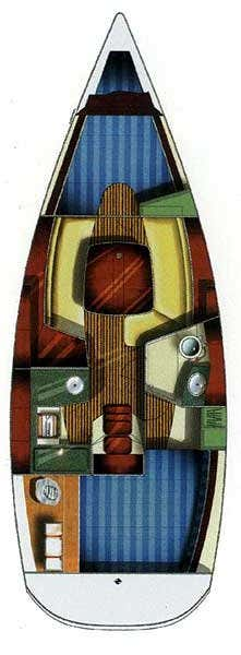 Sun Odyssey 32 (Caprice)  - 1