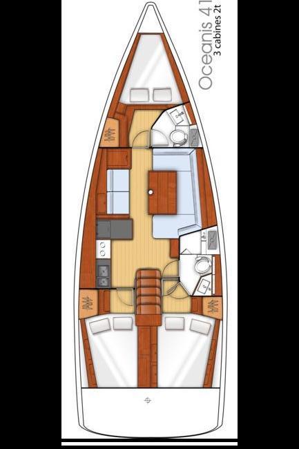 Oceanis 41 (O41-15)  - 1