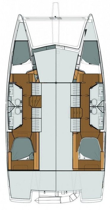 Fountaine Pajot Lucia 40 (WHY NOT)  - 2