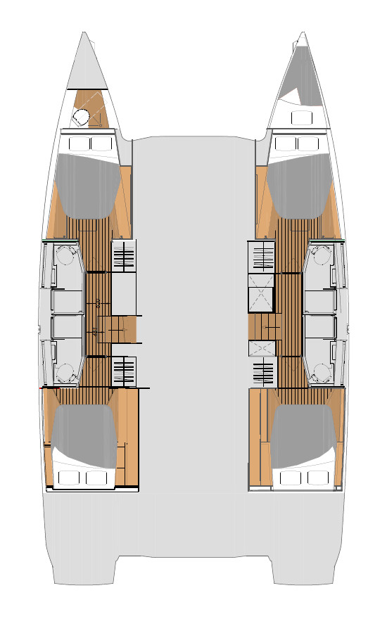 Fountaine Pajot Elba 45 (Family with AC and generator)  - 1