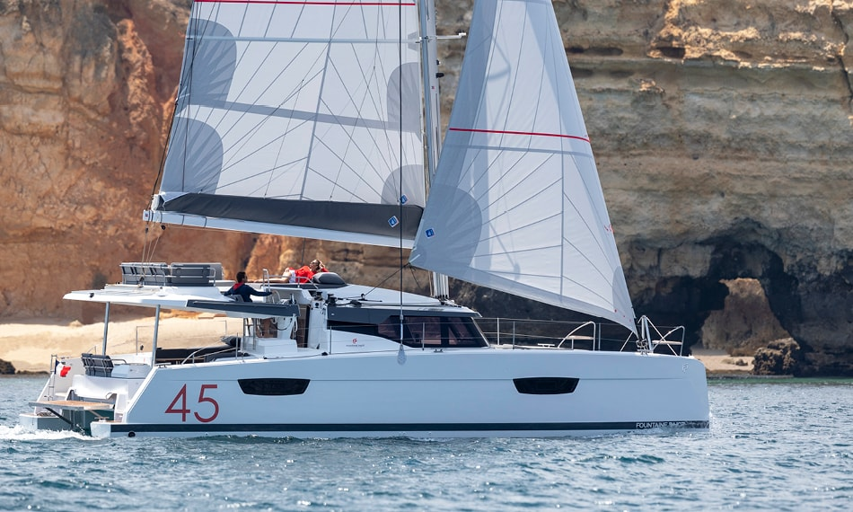 Fountaine Pajot Elba 45 (Family with AC and generator)  - 0