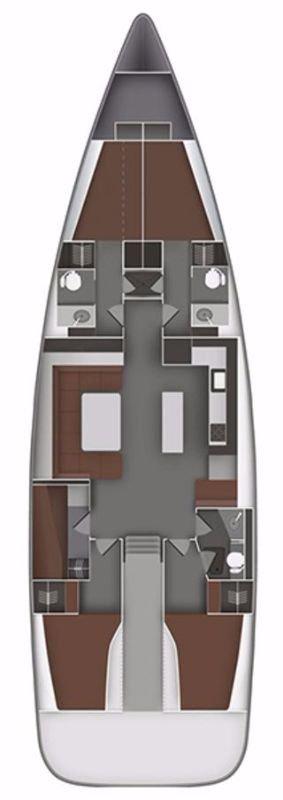 Bavaria Cruiser 55 - 5 cab. (Marjana V)  - 1