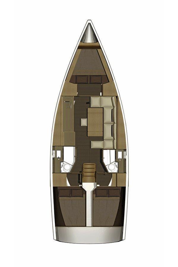 Dufour 382 GL (Sv. Ivan)  - 1