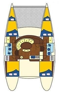 Lagoon 380 - 4 + 2 cab. (Xenia)  - 1