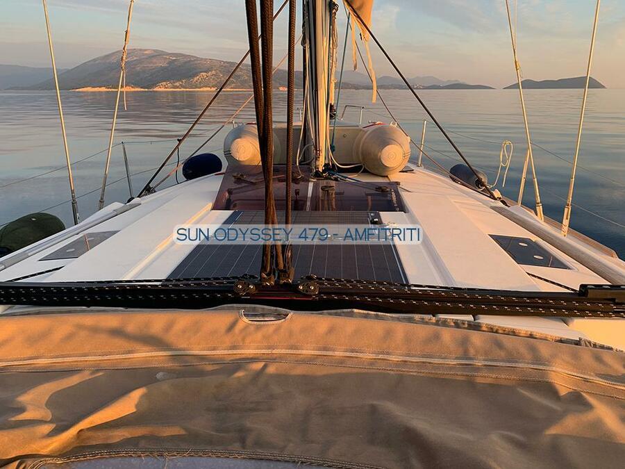 Sun Odyssey 479 - 4 cab. (Amfitriti)  - 3