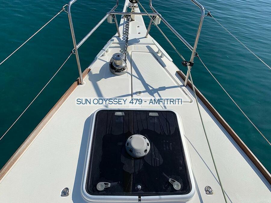 Sun Odyssey 479 - 4 cab. (Amfitriti)  - 9
