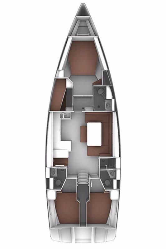 Bavaria Cruiser 51 - 4 cab (Marcellino)  - 1