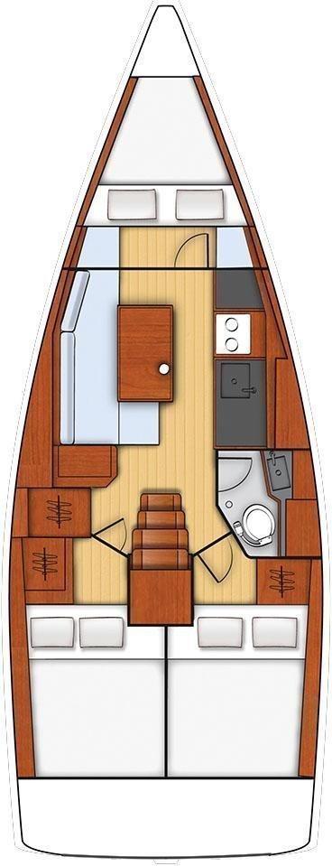 Oceanis 35 (Minta)  - 1