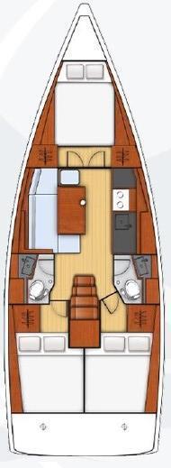 Oceanis 38 - 3 cab. (Rusalka)  - 1