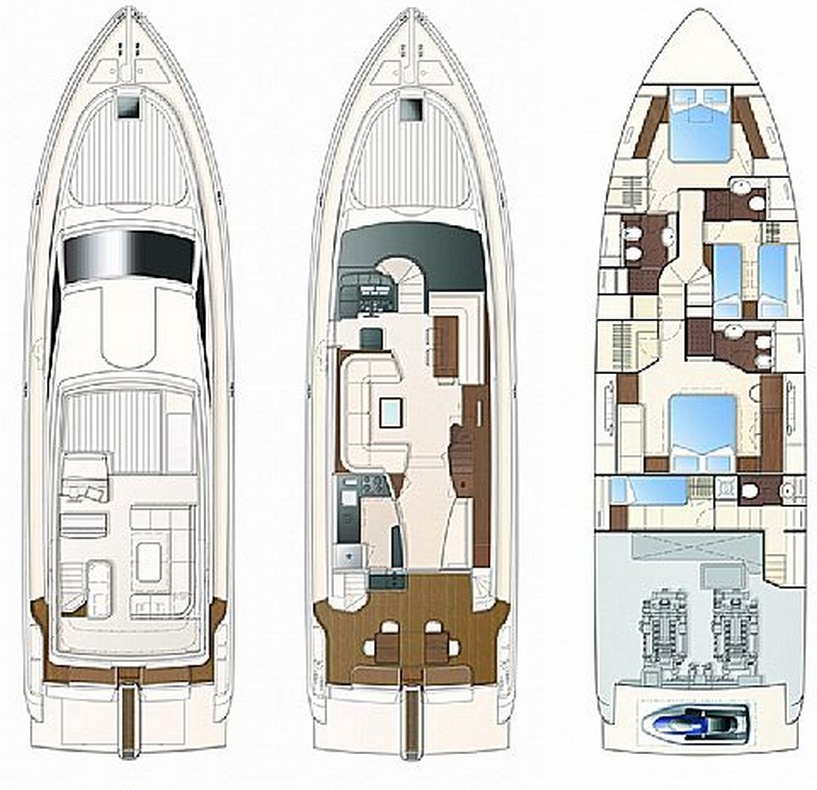 Ferretti Yachts 630 (AMY 3+1 cab.)  - 1