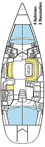 Sun Odyssey 49 DS (Sun 49DS)  - 1