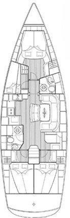 Bavaria 46 Cruiser (Skrivena)  - 1