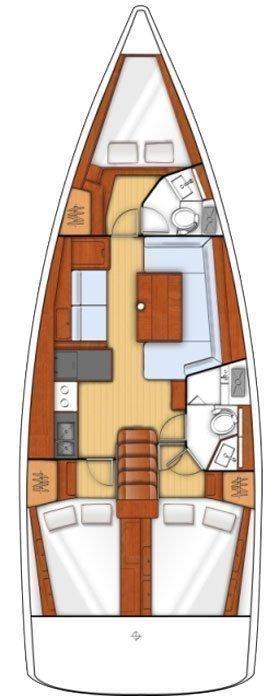 Oceanis 41 (Anastasia III)  - 1