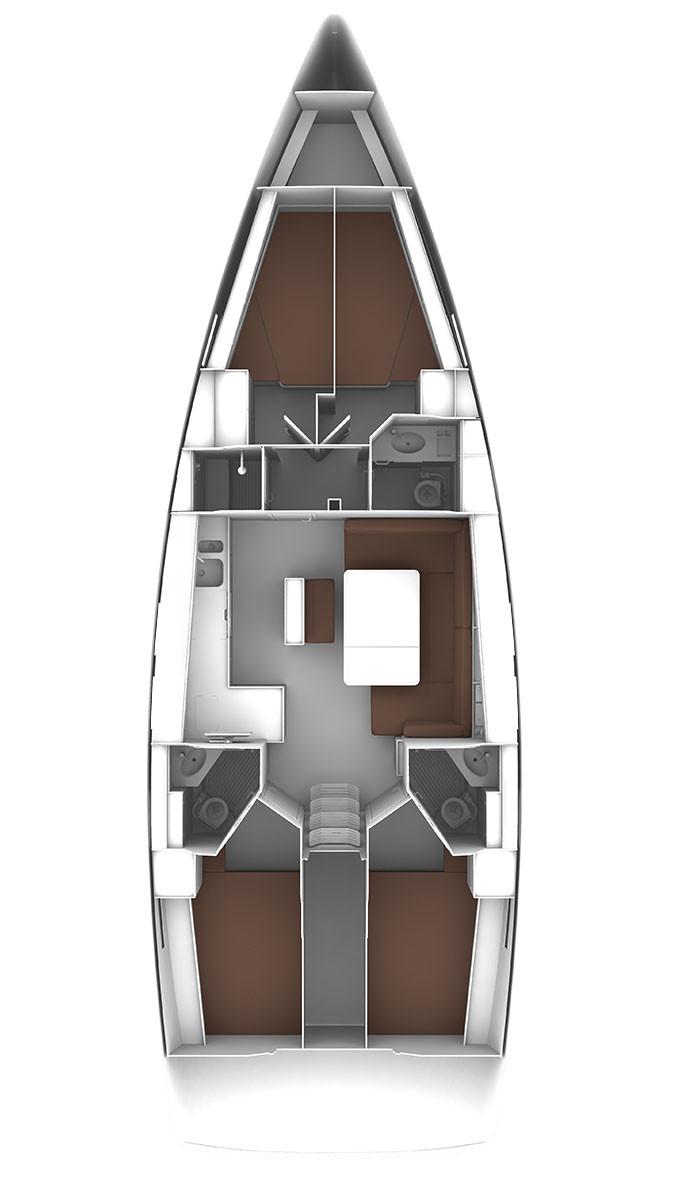 Bavaria Cruiser 46 - 4 cab. (Amsterdam)  - 1