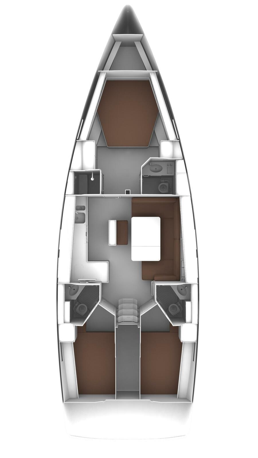 Bavaria Cruiser 46 - 4 cab. (Amsterdam)  - 2