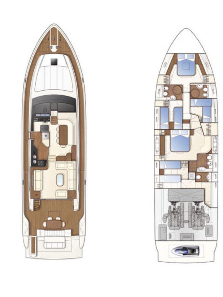 Ferretti Yachts 681 (Dominique)  - 1