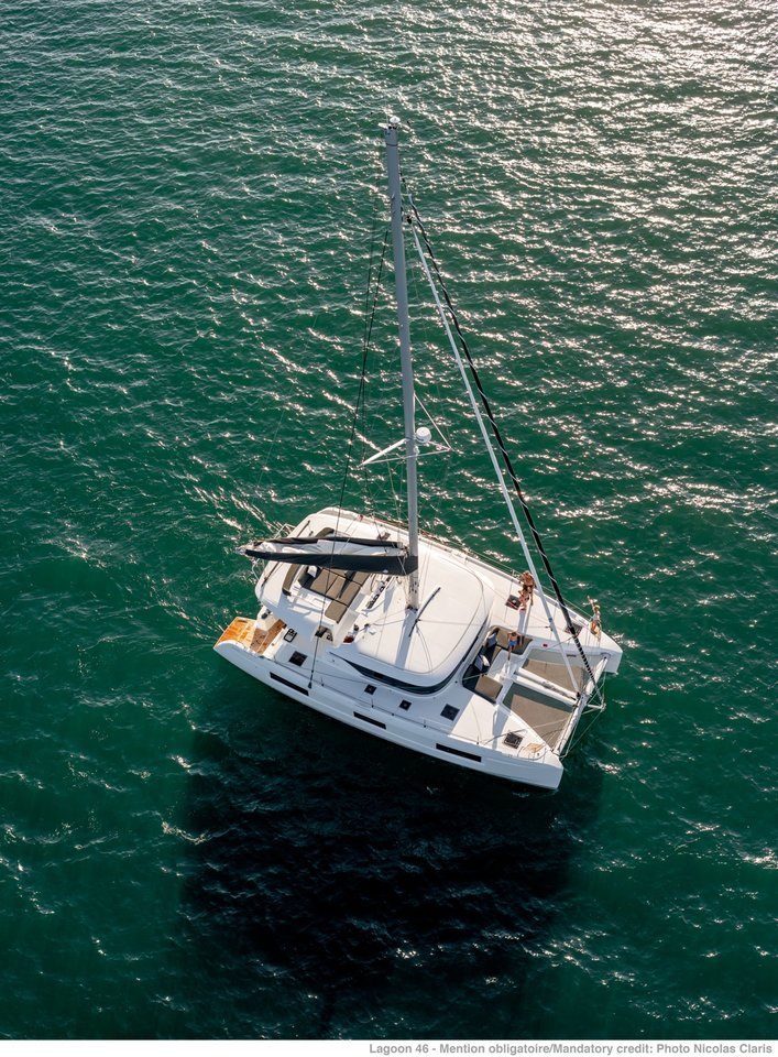 Lagoon 46 - 4 + 2 cab. (WHITE PEARL (generator, air condition, water maker))  - 3